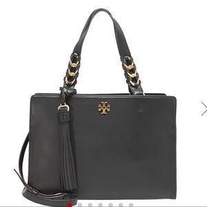 Tory Burch  Brooke Leather Top-Handle Bag Satchel
